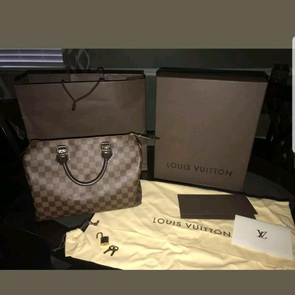 Louis Vuitton Handbags - Athuntic louis Vuitton speedy 30